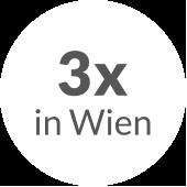 3x in Wien